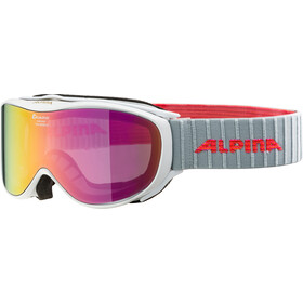 Alpina Challenge 2.0 Multimirror S2 Lunettes de protection, white-flamingo pink